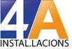 Logotipo de 4A Instalaciones,  en carrer des les monges 10 , -08030-Barcelona - Cataluña, teléfono: 93 521 00 63