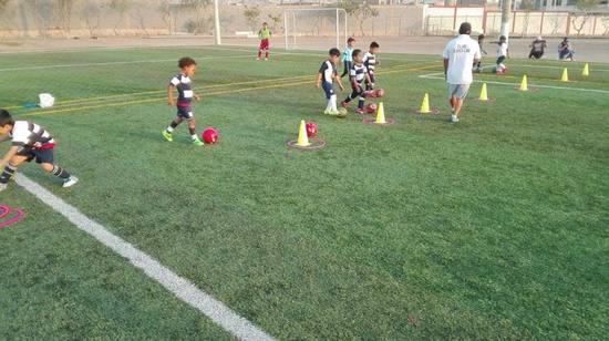 Academia de fútbol  en San Juan de Miraflores