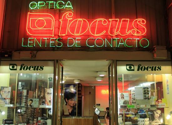 Ópticas en Santiago