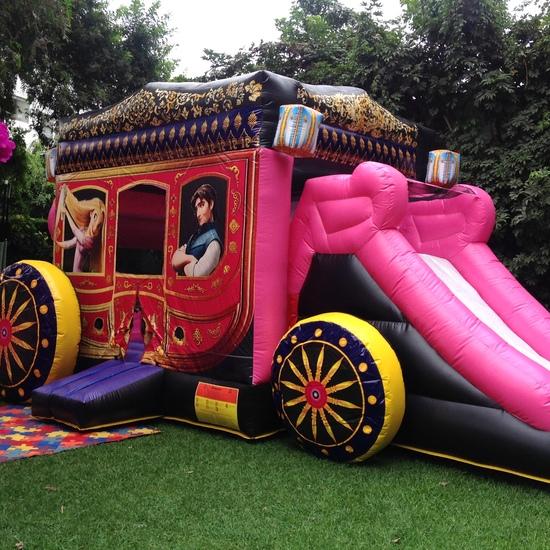 Juegos infantiles en Santiago de Surco