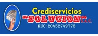 CREDISERVICIOS SOLUCION